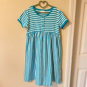 Hanna Andersson Size 140 striped dress
